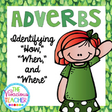 Adverbs Task Cards Scoot Activity