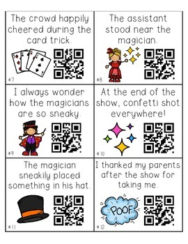 Adverbs Tell QR Task Cards FREEBIE!