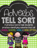 Adverbs Tell Sort