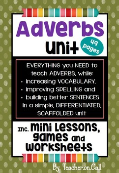 Adverbs Unit