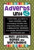 Adverbs Unit