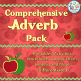 Adverbs Unit - Anchor Charts, Activities, Centers, Worksheets