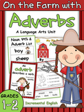 Adverbs Worksheets and Activities (How, When, Where) - On the Farm with Adverbs