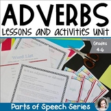 Adverbs Unit - Parts of Speech Series