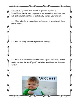 Adverbs Unit Test