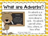 Adverbs - What are Adverbs? Task Cards