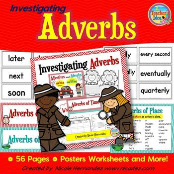 Adverbs - How, When, Where, How Often or To What Degree? Resource Pack