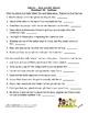 Adverbs Worksheet Packet and Lesson Plan - 8 pages plus answer key
