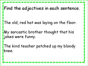 Adverbs and Adjectives Power Point