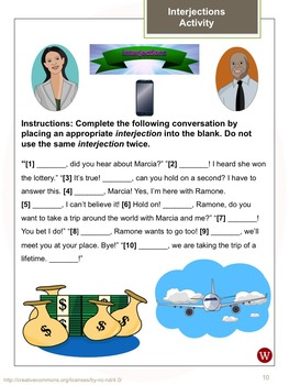 Adverbs and Interjections: Warriner's Write it Right 16-18