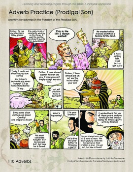 Adverbs and the Prodigal Son Comic Page