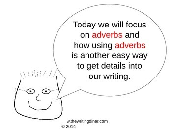 Adverbs from The Writing Diner