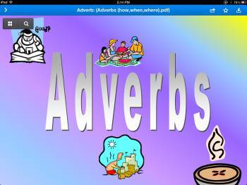 Adverbs (how, when, and why)