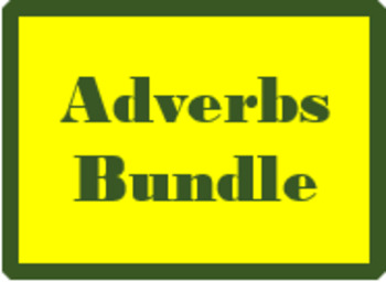 Adverbes (French Adverbs) Bundle
