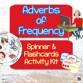 Adverbs of Frequency Spinner & Flashcards Activity Kit ~ V