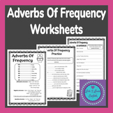 Adverbs of Frequency Worksheets