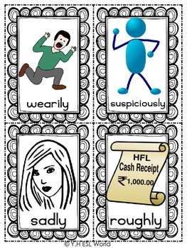 Adverbs of Manner {Flashcards}
