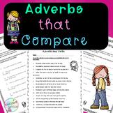 No-Prep - Adverbs that Compare