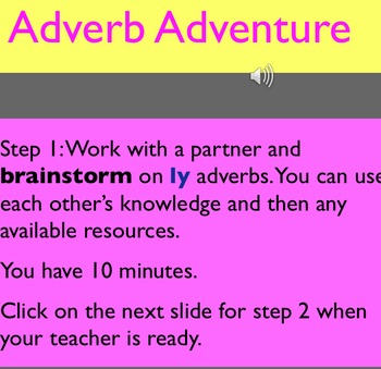 Adverbs:Introduction and Practice