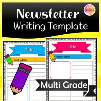 Newsletter Writing Template