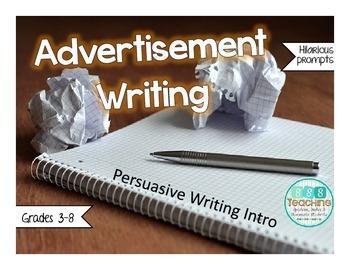 Advertisement Writing - Persuasive Writing Introduction