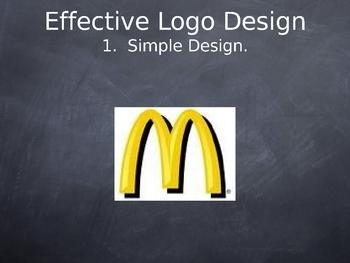 Advertisement presentation- logo design
