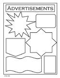 Advertisements Newspaper Template