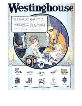 Advertisements of the Roaring Twenties: Document-Based Question