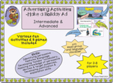 Advertising Activities- Make a Holiday Ad Intermediate & Advanced