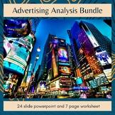 Advertising Analysis Bundle
