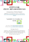 Advertising: Create Your Own Cereal Box - RESEARCH, PLAN A