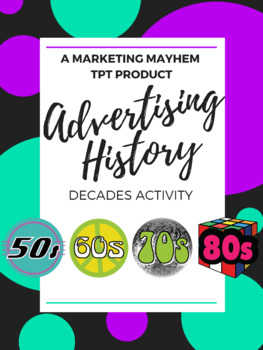 Advertising History Comparisons Activity
