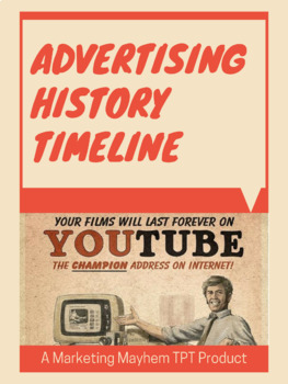 Advertising History Timeline