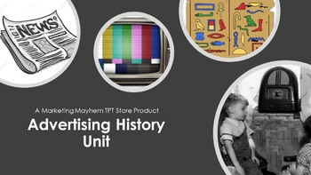 Advertising History Unit