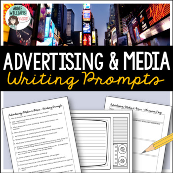 Media Literacy Writing Prompts
