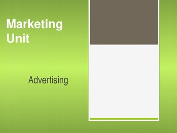 Advertising PowerPoint Marketing