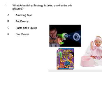 Advertising Strategies Quiz- Smart Response