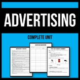 Advertising Techniques - Activity and Assignment