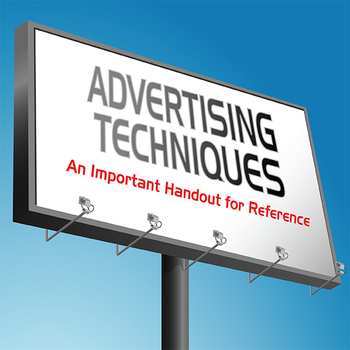 Advertising Techniques: Definitions and Examples for Media Studies