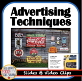 Advertising Techniques Lesson with 8 Commercial Links