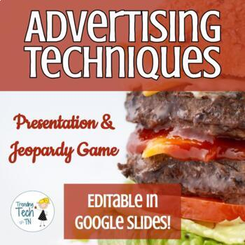 Advertising Techniques - Editable in Google Slides