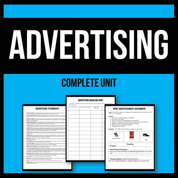 Advertising Unit - Print and TV