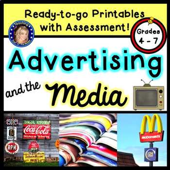 Advertising and the Media - Advertising Techniques including Ethos/Pathos/Logos