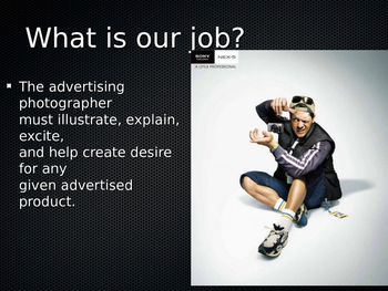 Advertising in Photography ppt.