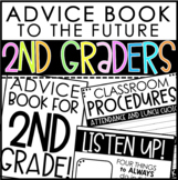 Advice Book to the Future 2nd Graders