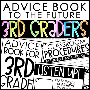Advice Book to Future 3rd Graders
