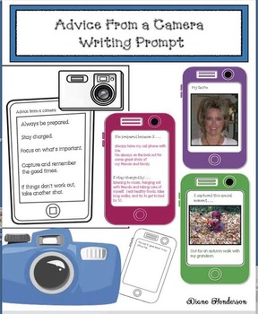 Advice From A Camera Writing Prompt