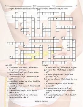 Advice Modal-Should Crossword Puzzle