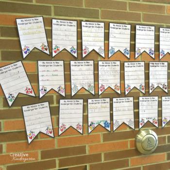 Advice for New Students Banner (Kindergarten, Grade 1 & Grade 2)