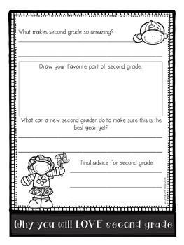 Advice for Next Year Flipbook (Grades 1-2)